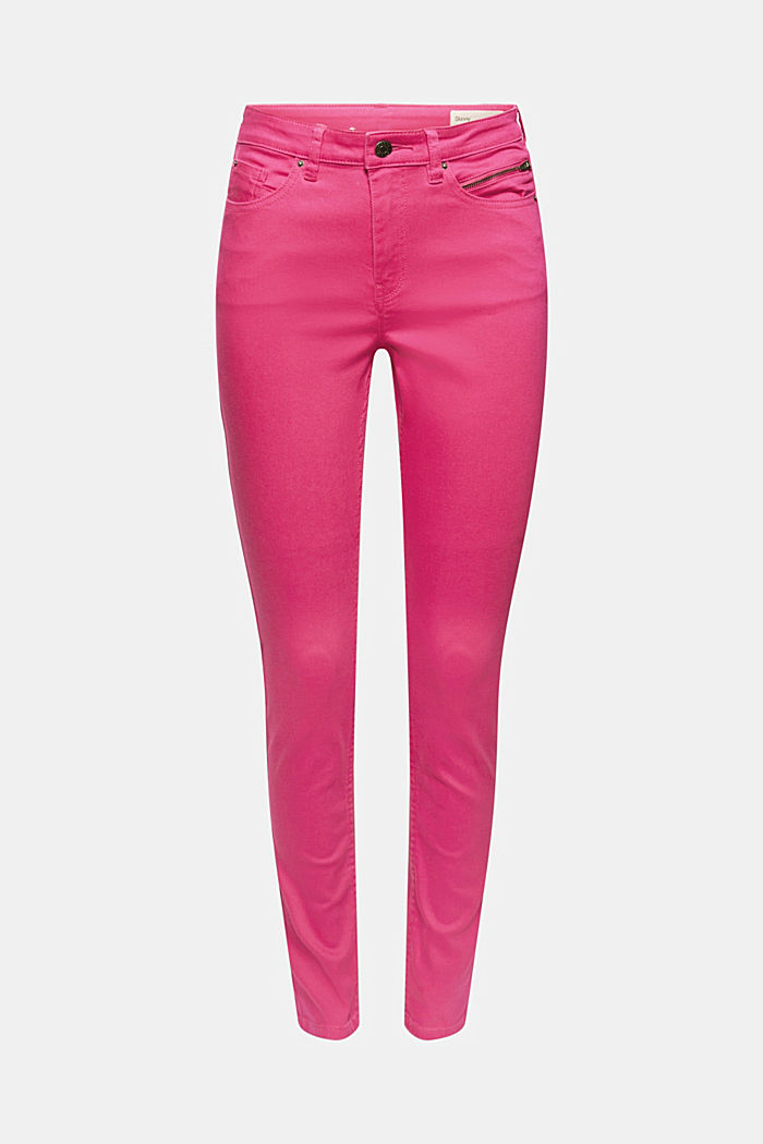 Pants woven, PINK FUCHSIA, detail image number 7