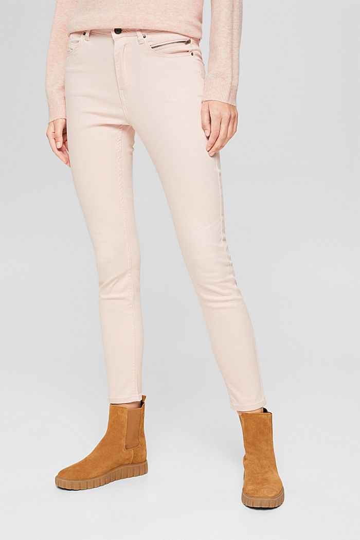 Pants woven, PASTEL PINK, detail image number 0