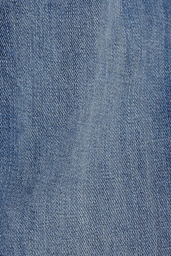 Stretch-Jeans mit Kontraststreifen, BLUE MEDIUM WASHED, detail image number 4
