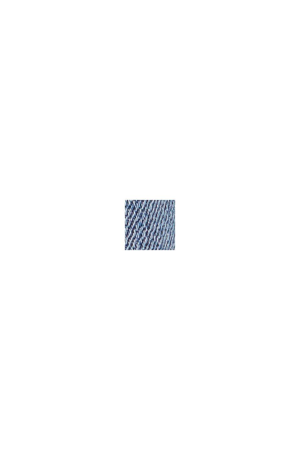 Jean stretch orné de bandes tissées, BLUE MEDIUM WASHED, swatch