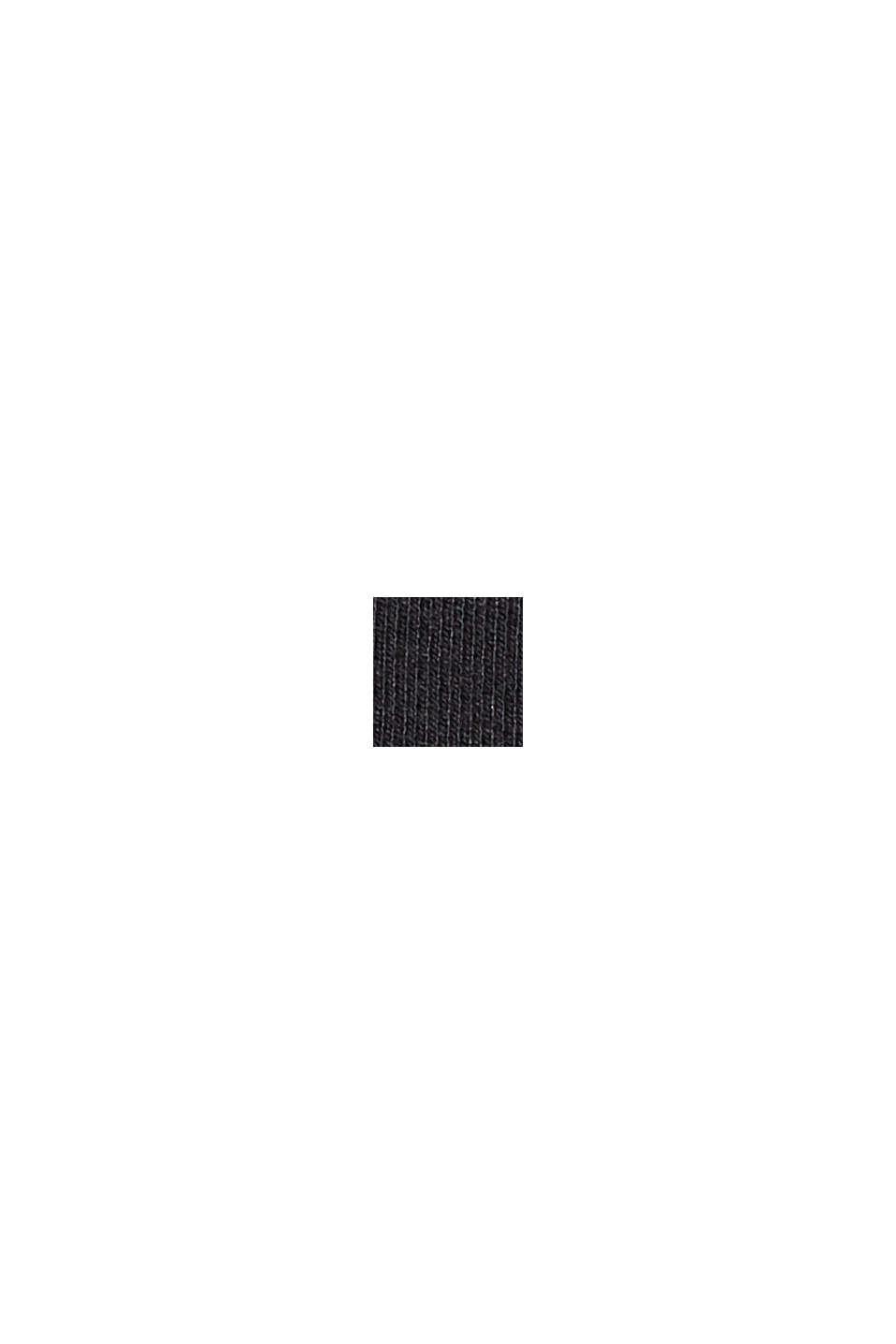 En matière recyclée: la mini-jupe en jersey punto, BLACK, swatch