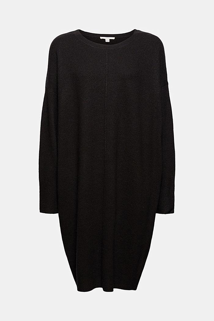 Mit Wolle: Strickkleid mit O-Shape