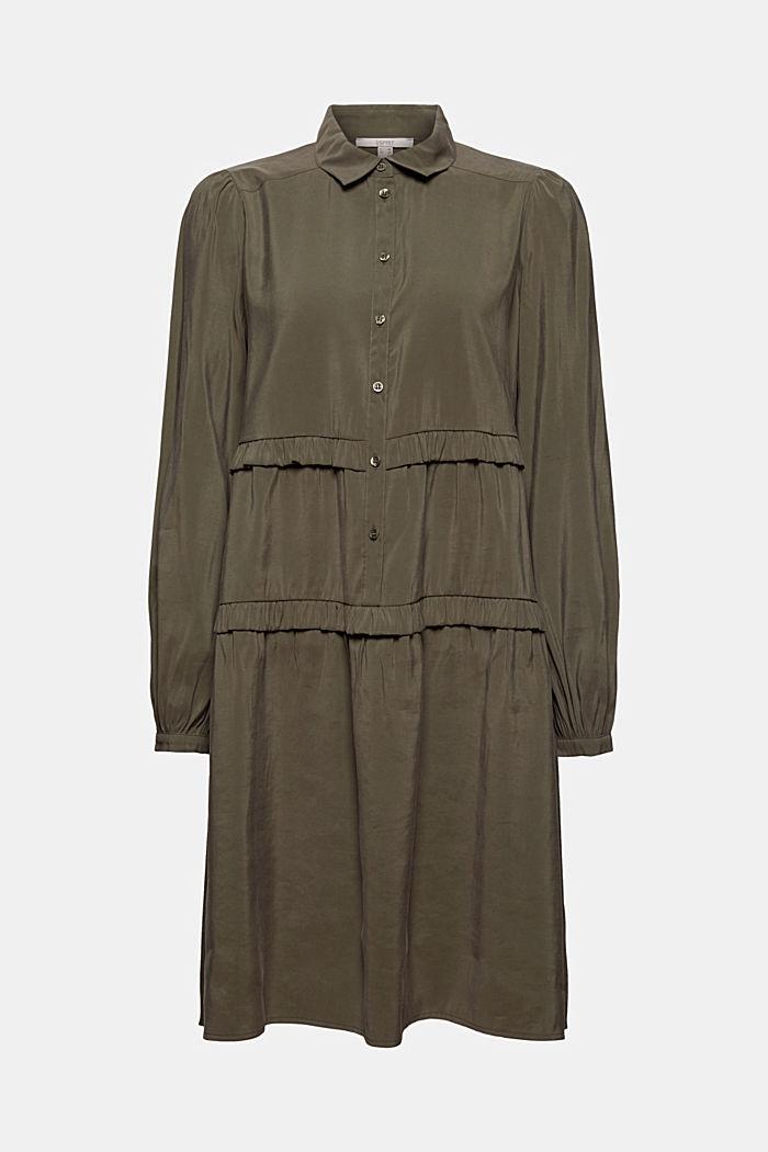 Skjortekjole med LENZING™ ECOVERO™