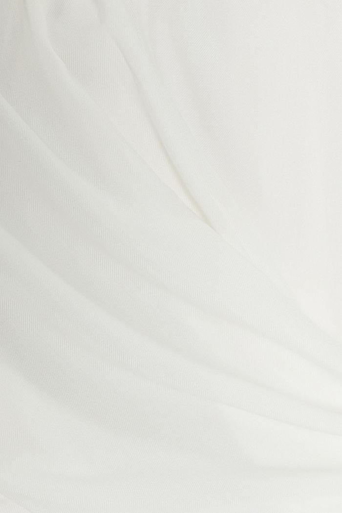 Tunikabluse mit Biesen, OFF WHITE, detail image number 4