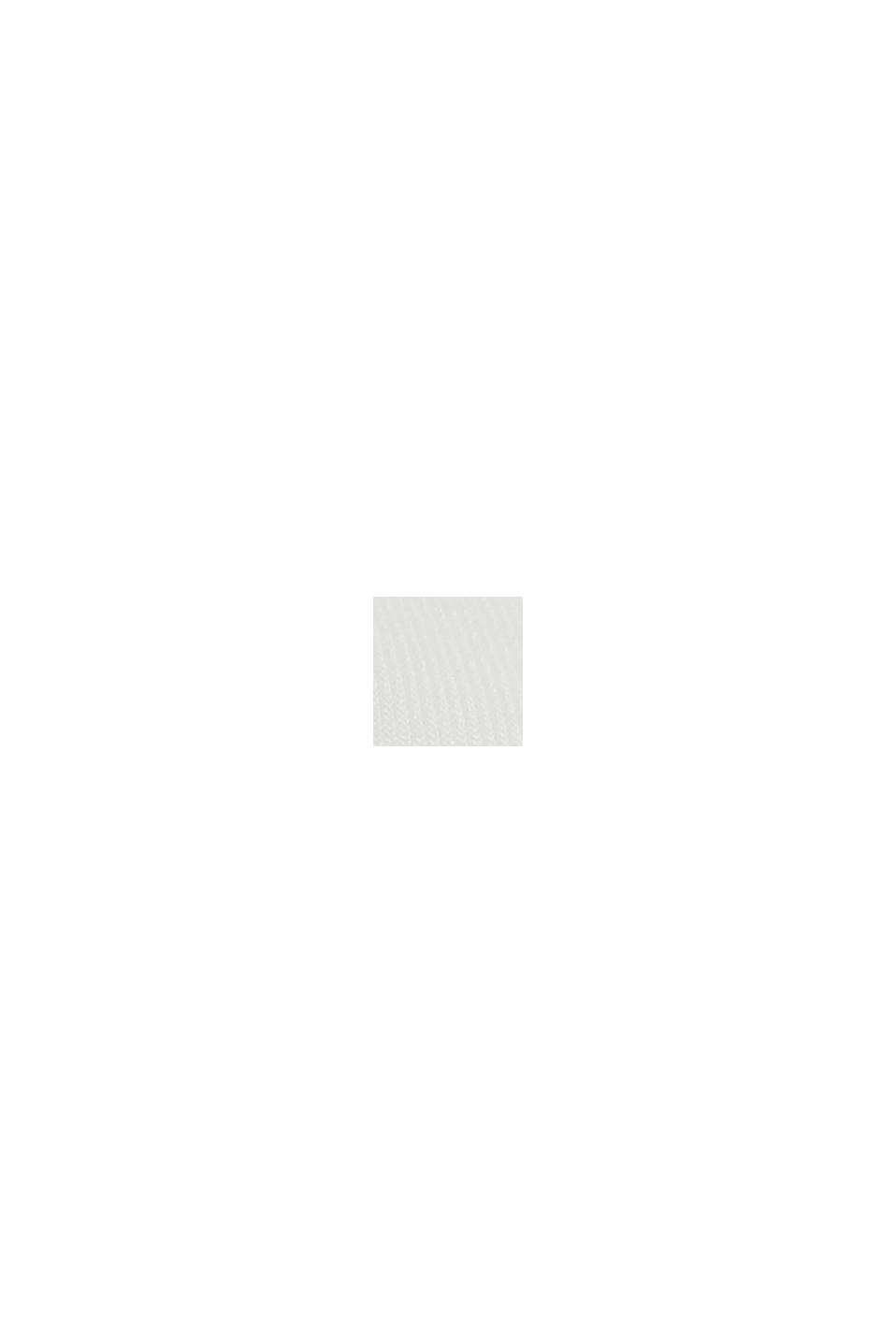 Tuniekblouse met biezen, OFF WHITE, swatch