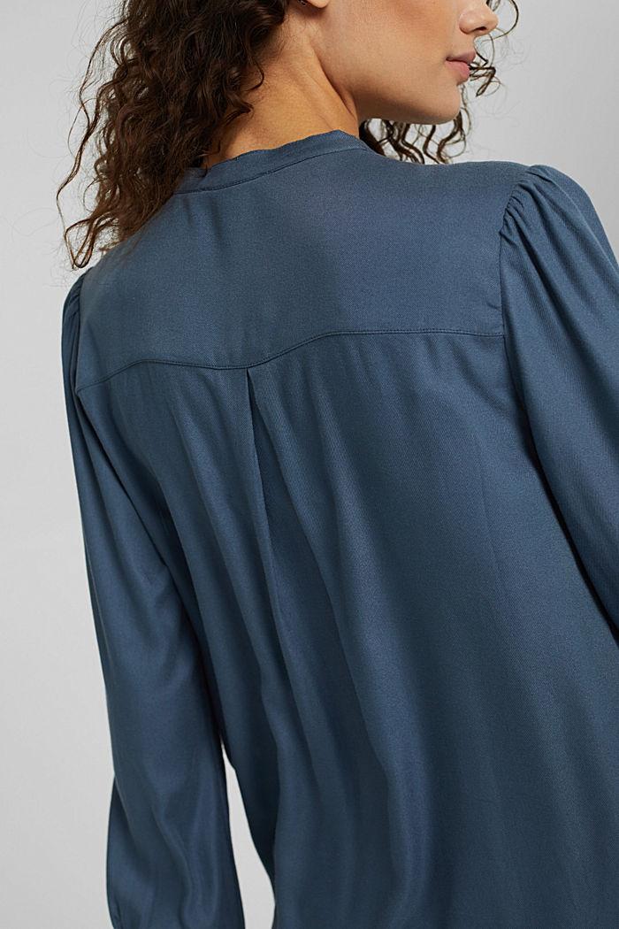Tunikabluse mit Biesen, GREY BLUE, detail image number 2