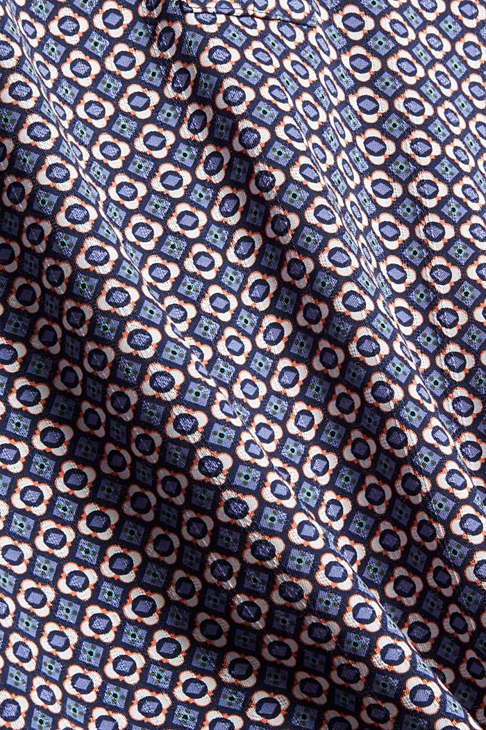 Bluse mit Blumen-Print aus LENZING™ ECOVERO™, NAVY, detail image number 4