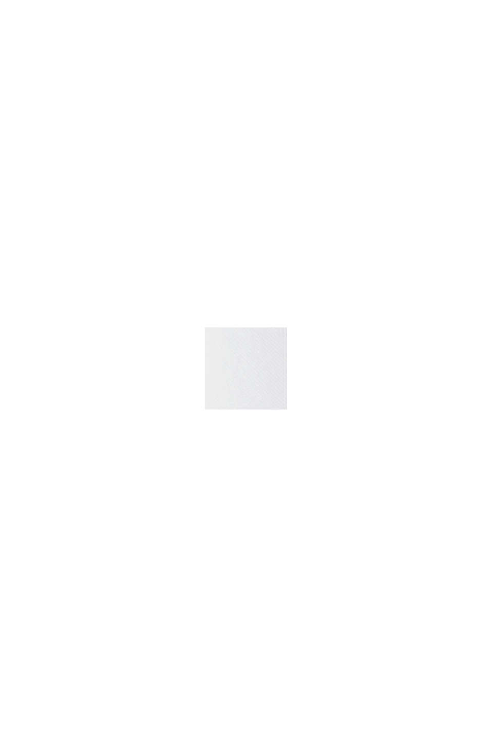CURVY lange overhemdblouse met kraag met ruche, WHITE, swatch
