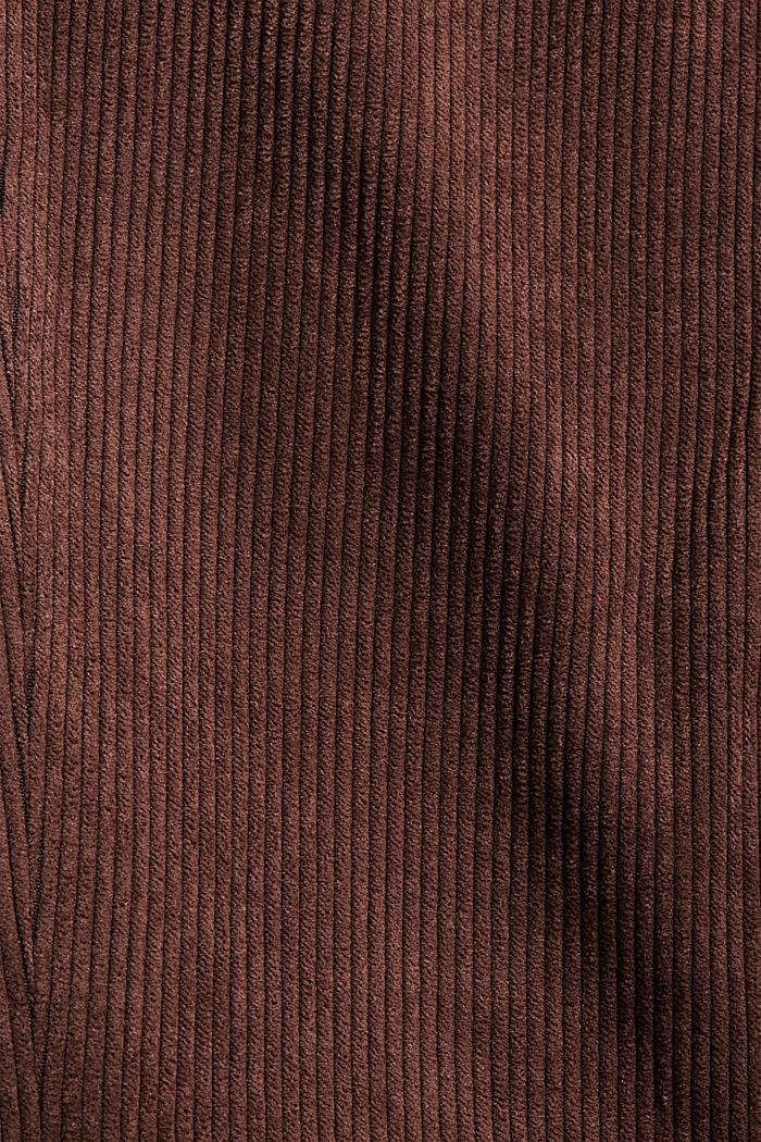 Recycelt: Blazer aus Cord, RUST BROWN, detail image number 4