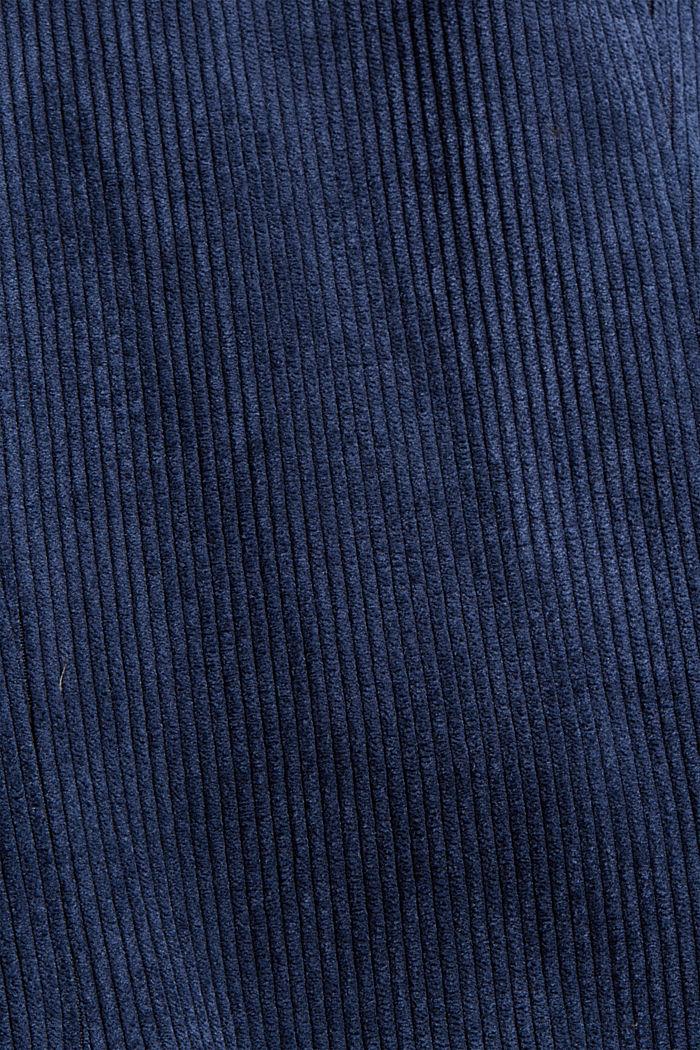 Recycelt: Blazer aus Cord, NAVY, detail image number 4