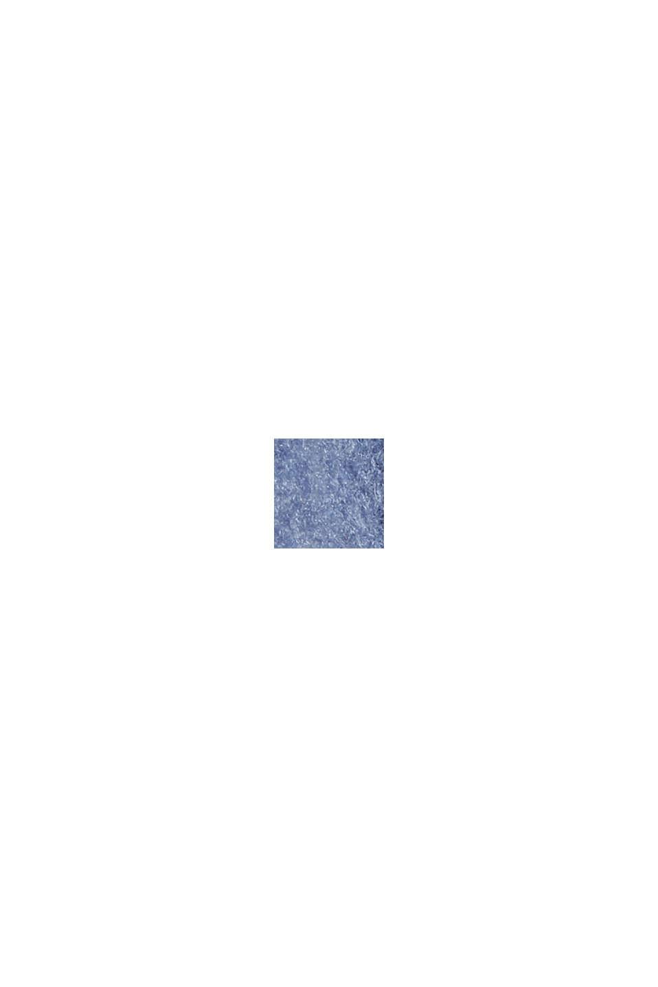 Skjortjacka av ullmix, GREY BLUE, swatch