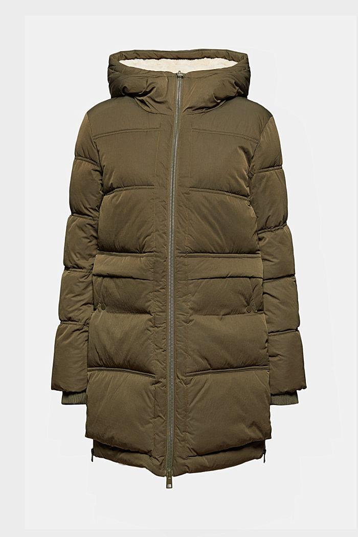 En matière recyclée: le manteau matelassé au rembourrage 3M™ Thinsulate™