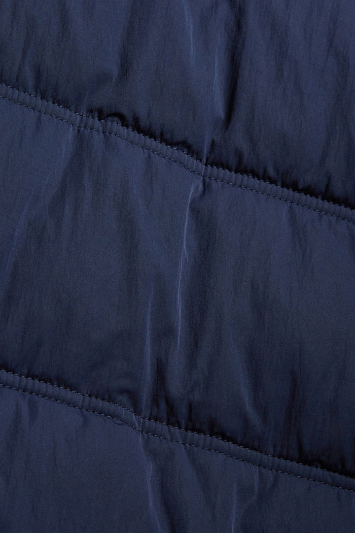 Recycelt: Steppmantel mit 3M™ Thinsulate™, NAVY, detail image number 4