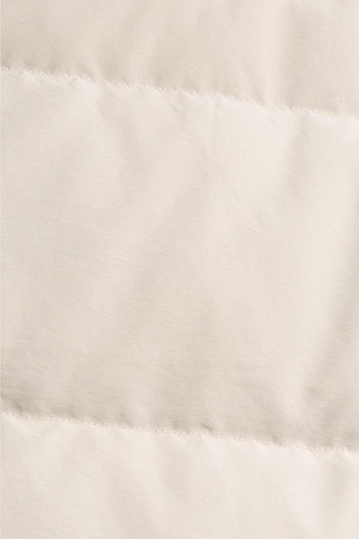 Recycelt: Wendemantel mit nachhaltiger Daune, CREAM BEIGE, detail image number 3
