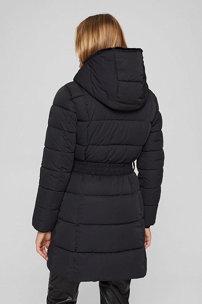 Manteau matelassé Thinsulate™ à capuche amovible, BLACK, detail image number 3