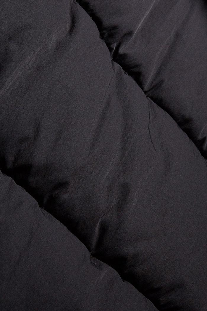 Manteau matelassé Thinsulate™ à capuche amovible, BLACK, detail image number 4