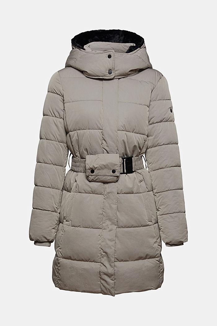 Manteau matelassé Thinsulate™ à capuche amovible