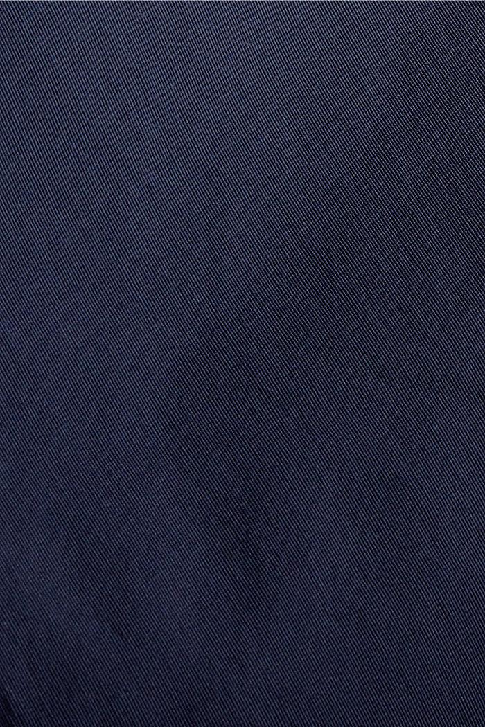Parka en coton biologique mélangé et duvet recyclé, NAVY, detail image number 4