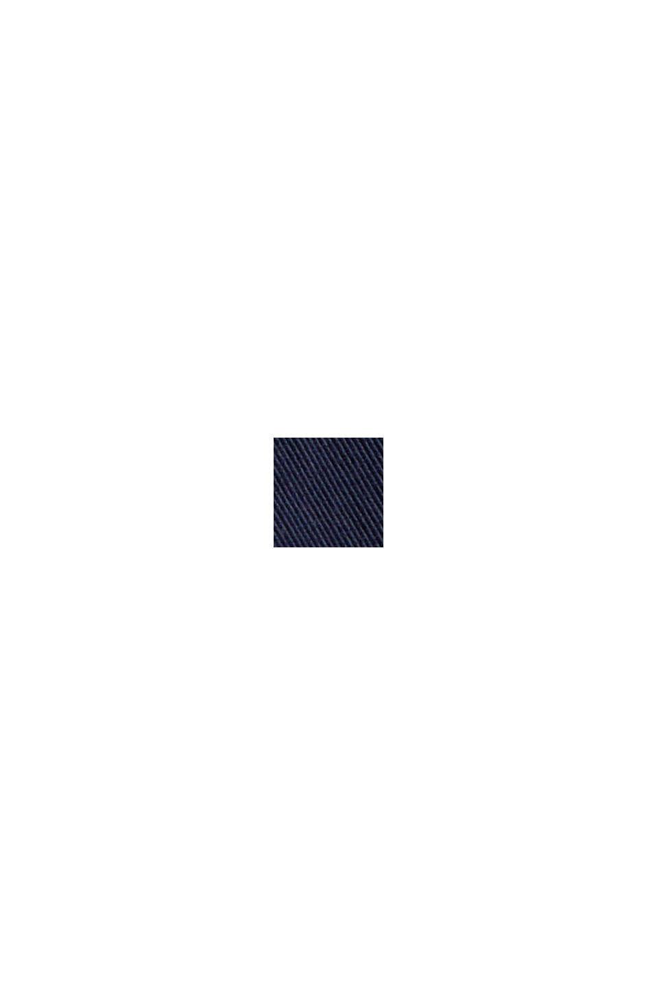 Parka en coton biologique mélangé et duvet recyclé, NAVY, swatch