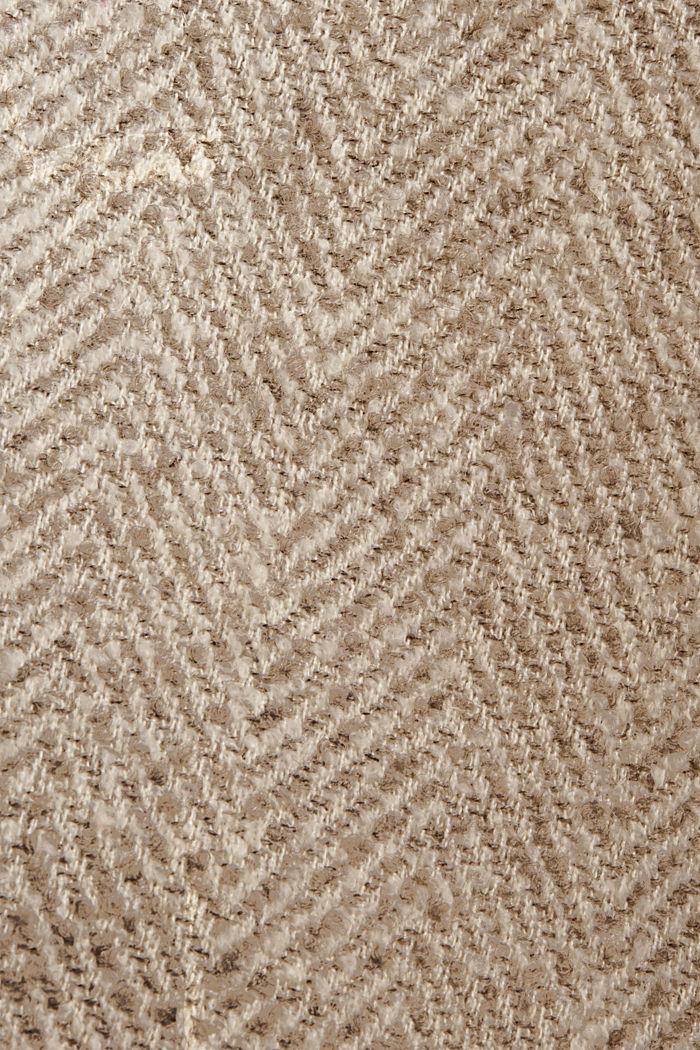 Mantel van een materiaalmix met 3M™ Thinsulate, LIGHT TAUPE, detail image number 4