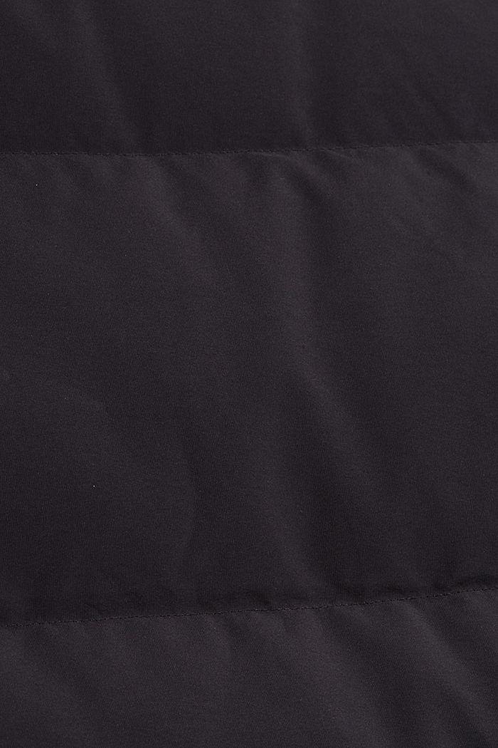 Wende-Steppweste mit recycelter Daunenfüllung, BLACK, detail image number 4