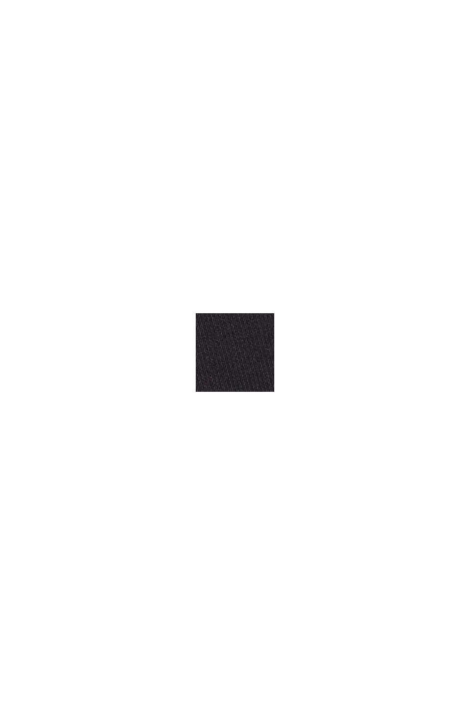 Chaleco acolchado reversible con relleno de plumón reciclado, BLACK, swatch