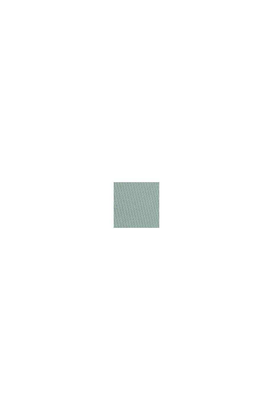 Chaleco acolchado reversible con relleno de plumón reciclado, DUSTY GREEN, swatch