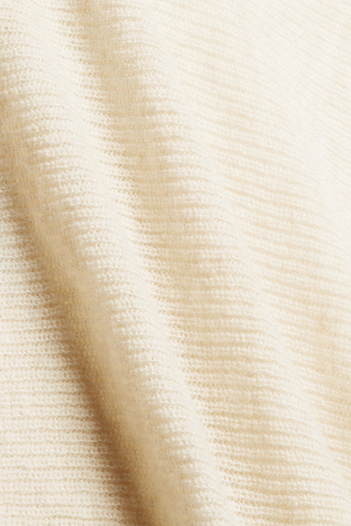Con lana: cárdigan estilo capa, SAND, detail image number 4