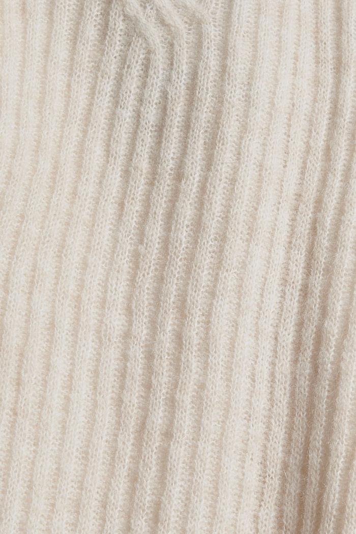 À teneur en laine: le pull-over à motif torsadé, SAND, detail image number 4