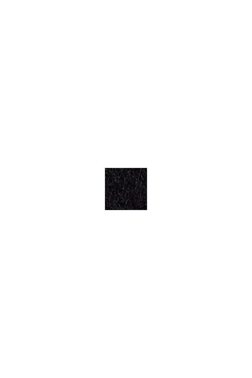 Rollkragenpullover mit LENZING™ ECOVERO™, BLACK, swatch