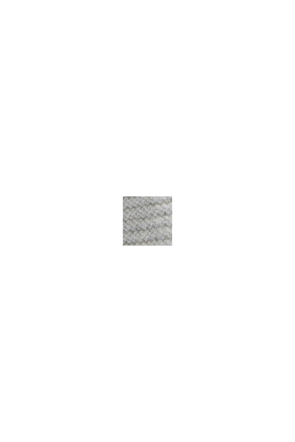 Norweger-Pullover aus Bio-Baumwoll-Mix, LIGHT GREY, swatch