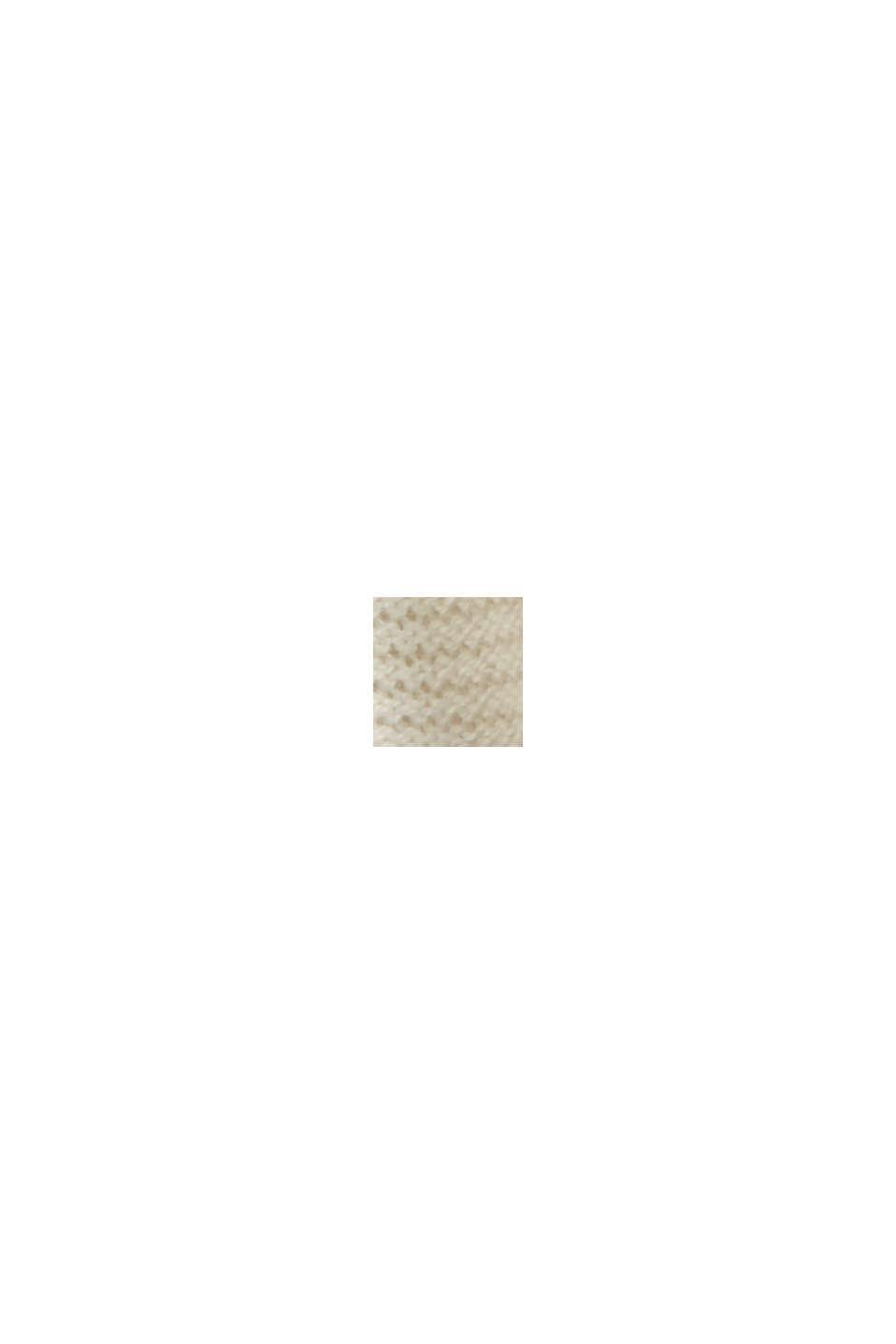 Norweger-Pullover aus Bio-Baumwoll-Mix, SAND, swatch