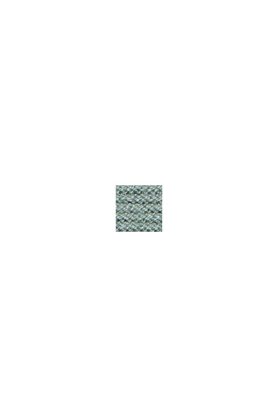 Sweter z norweskim wzorem z mieszanki materiałów z bawełną ekologiczną, DUSTY GREEN, swatch