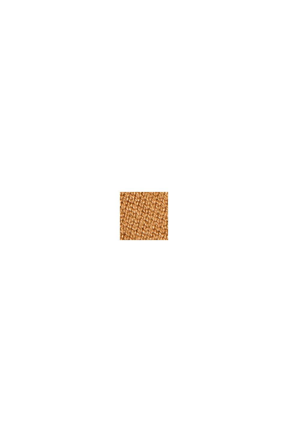 Rollkragenpullover aus Feinstrick, CAMEL, swatch