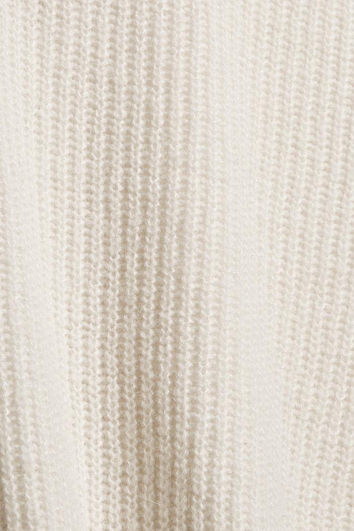 Met wol/alpacawol: trui met knoopsluiting, ICE, detail image number 4