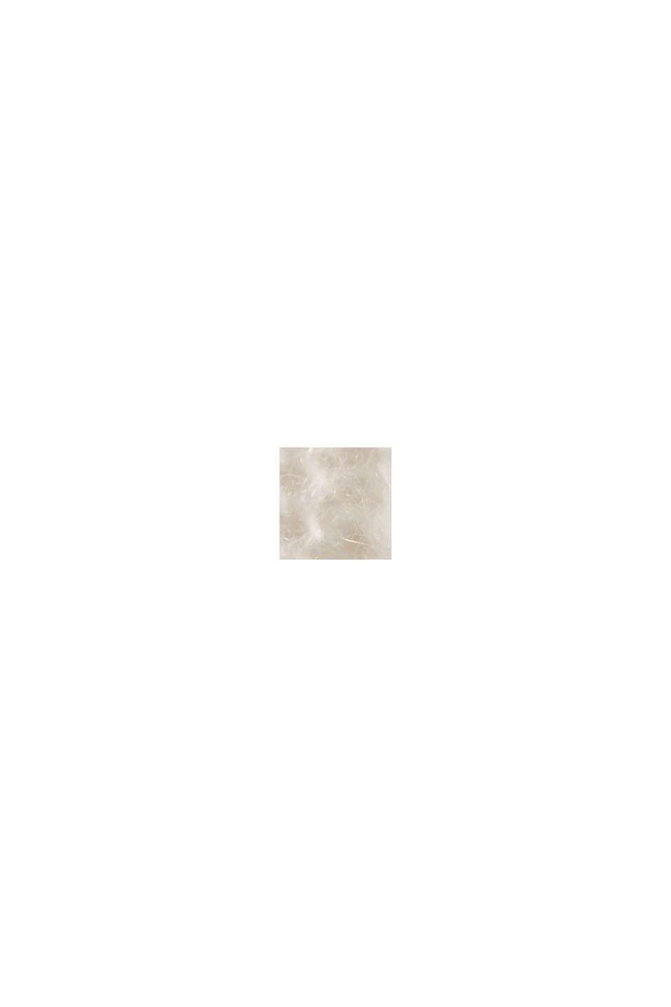 Mit Wolle/Alpaka: Pullover mit Knopfleiste, ICE, swatch