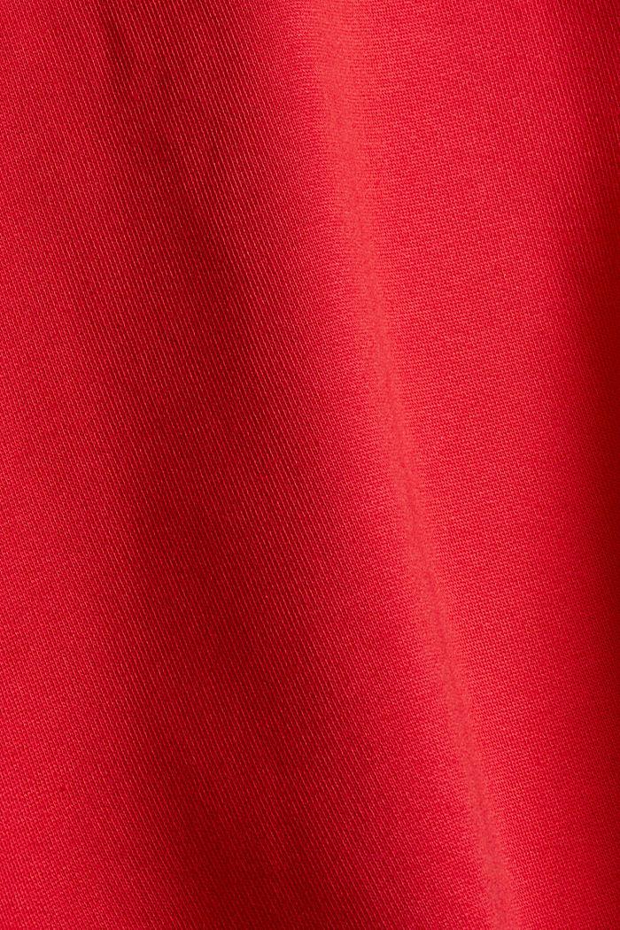 Sweathoodie van 100% katoen, RED, detail image number 4