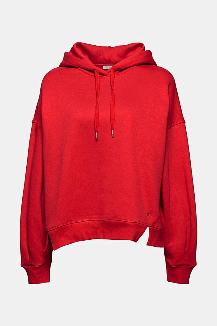 Sweathoodie van 100% katoen, RED, detail image number 7