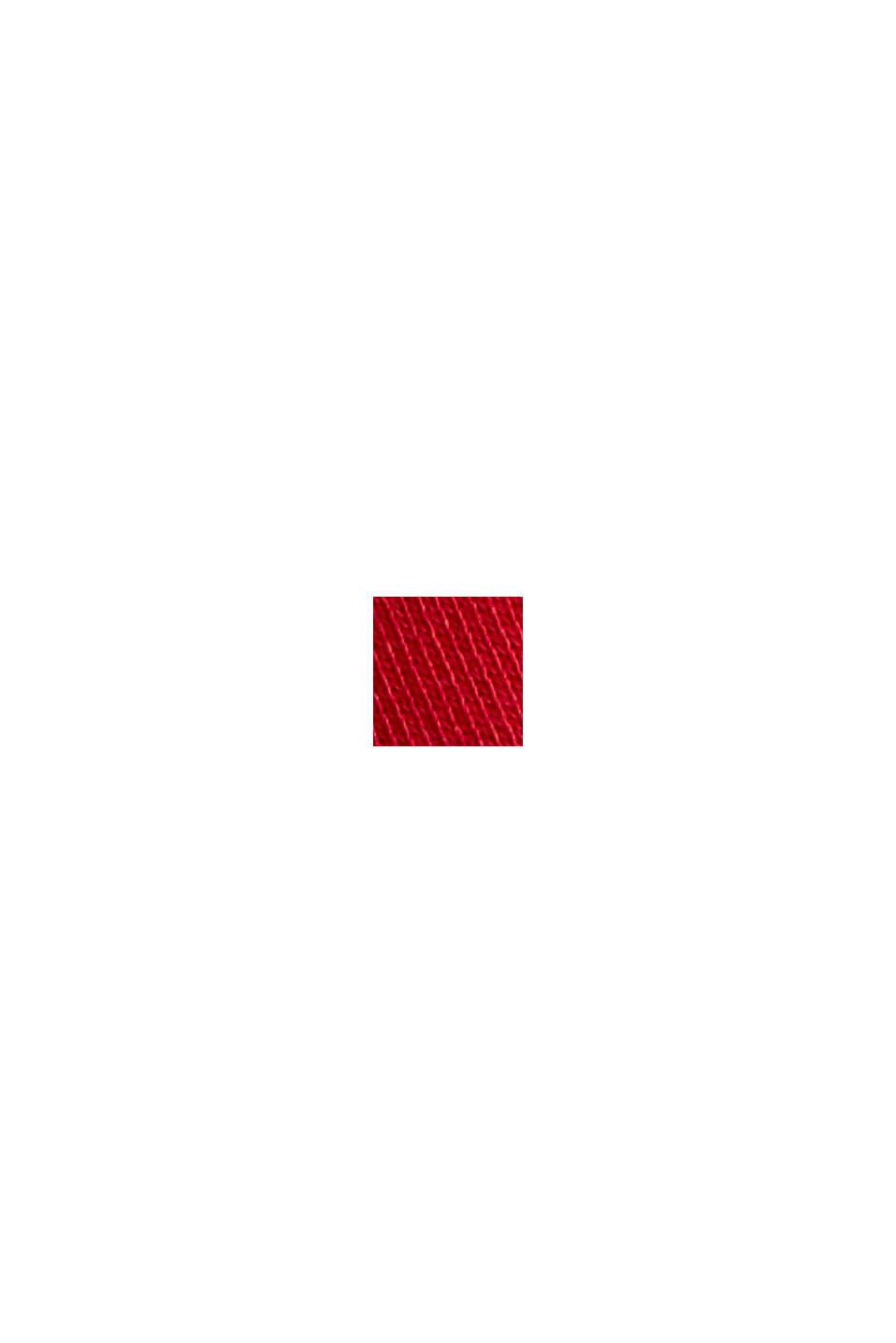 Sweat à capuche 100% coton, RED, swatch