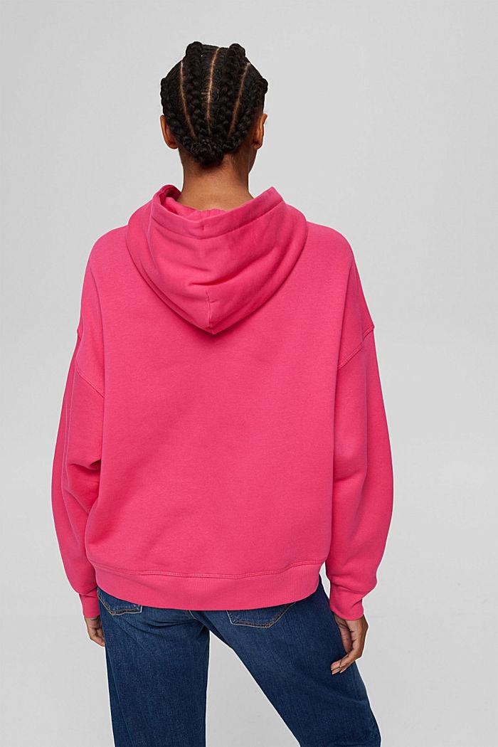 Sweathoodie aus 100% Baumwolle, PINK FUCHSIA, detail image number 3