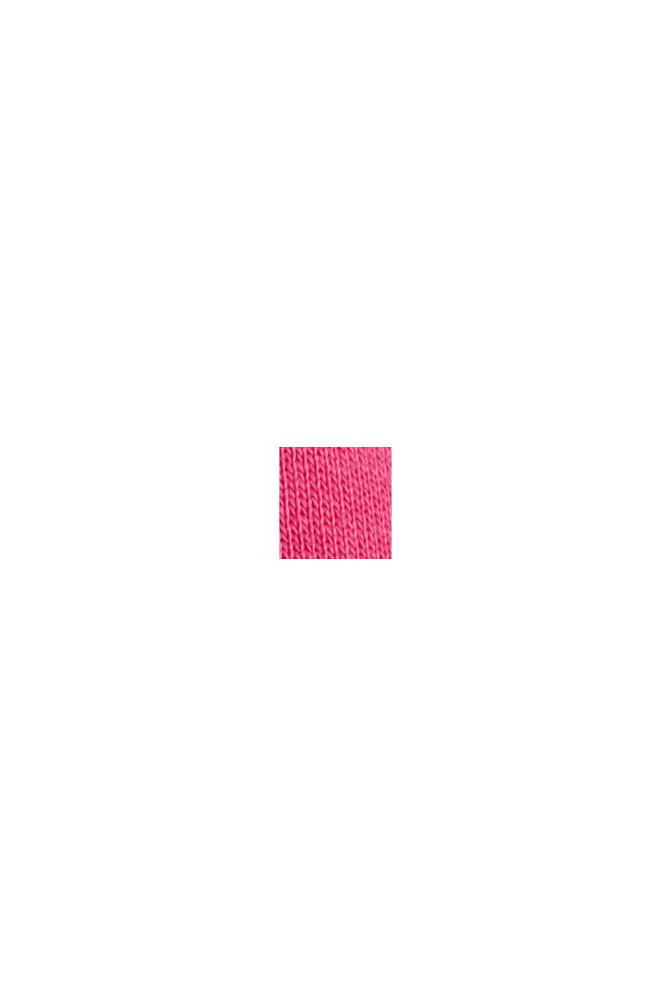 Sweat à capuche 100% coton, PINK FUCHSIA, swatch