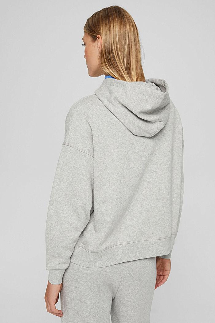 Sweat à capuche 100% coton, LIGHT GREY, detail image number 3