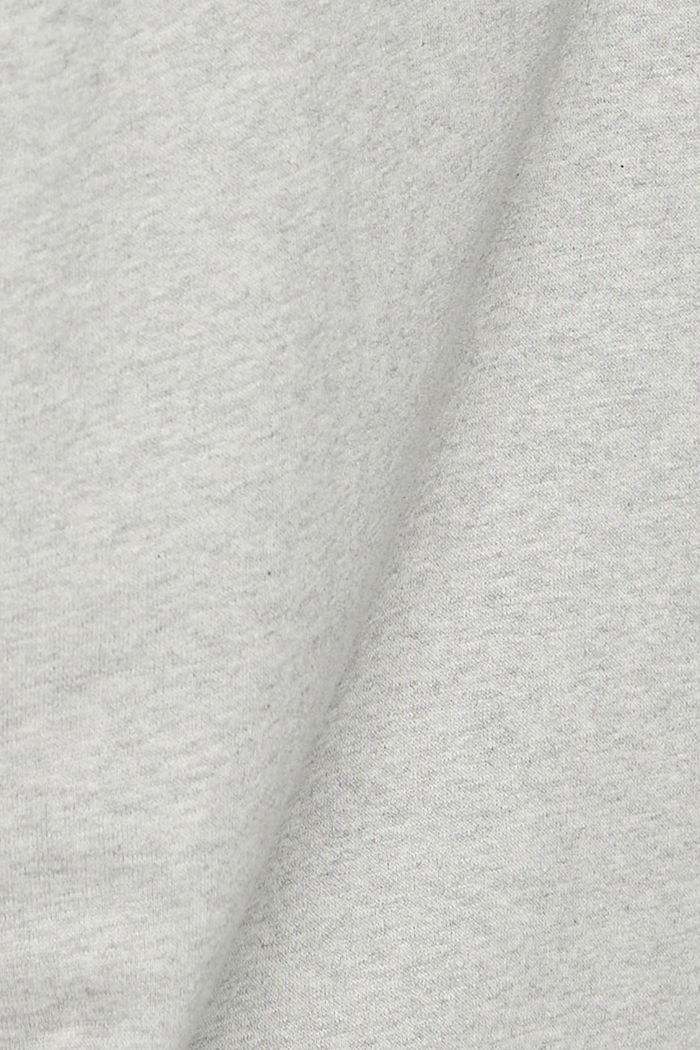 Sweat à capuche 100% coton, LIGHT GREY, detail image number 4