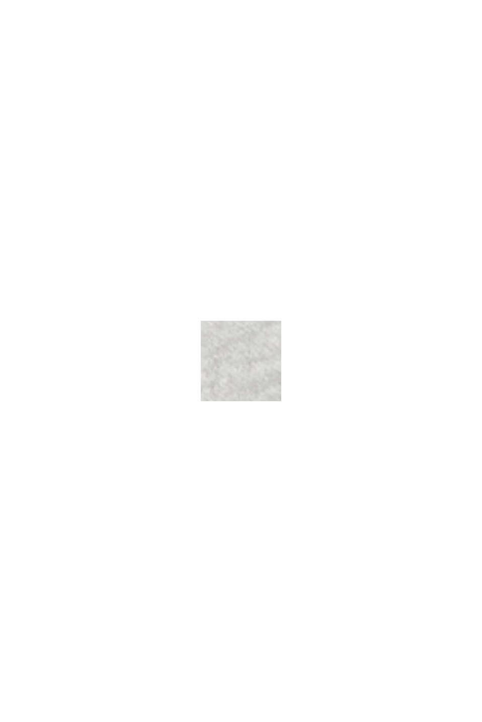 Mikina s kapucí, ze 100% bavlny, LIGHT GREY, swatch