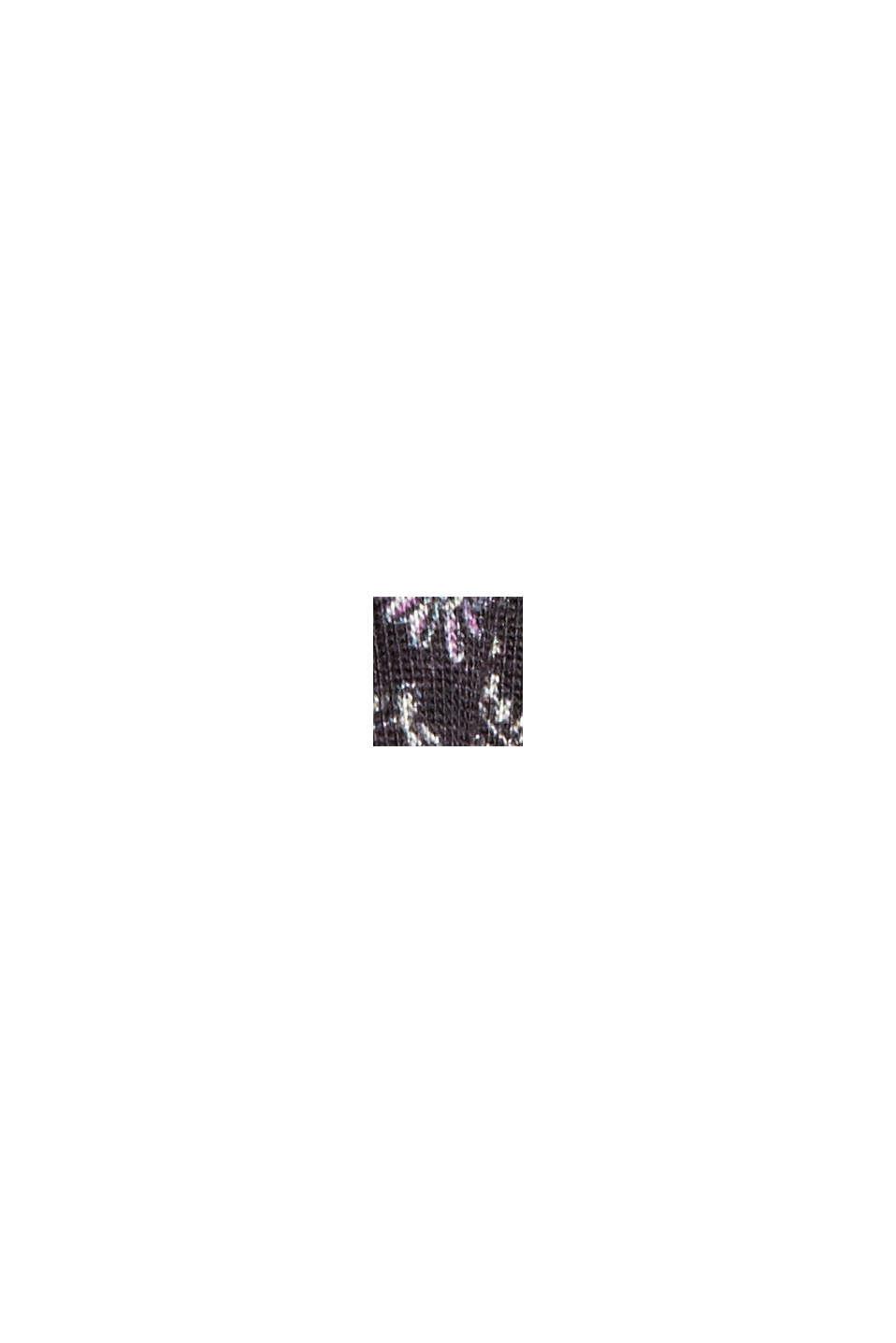 Z materiálu TENCEL™Luxe: triko s rolákem a s dlouhým rukávem, NAVY, swatch