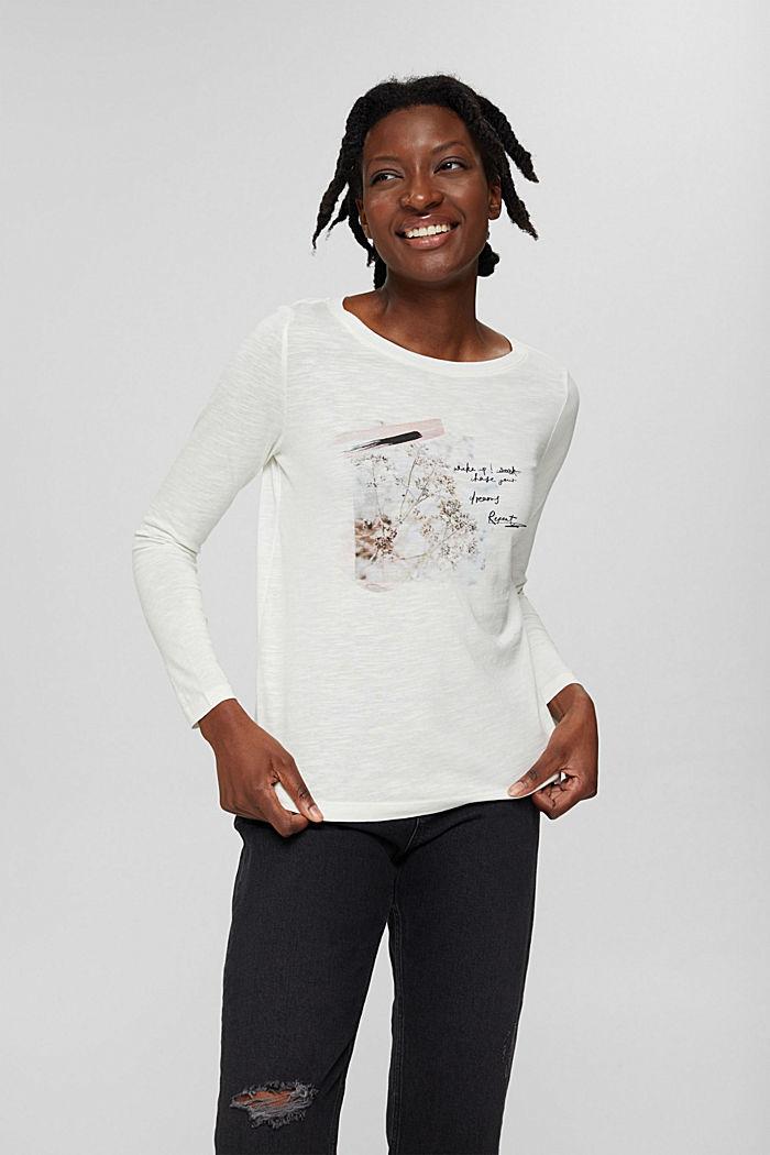 T-Shirts regular fit, OFF WHITE, detail image number 0