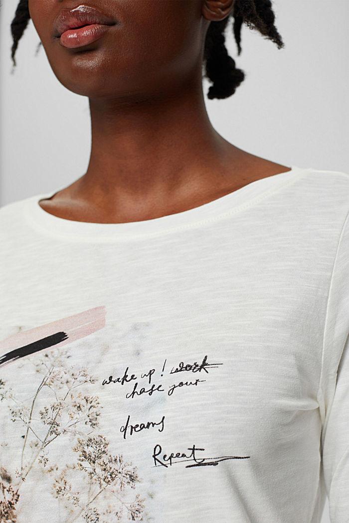 T-Shirts regular fit, OFF WHITE, detail image number 2