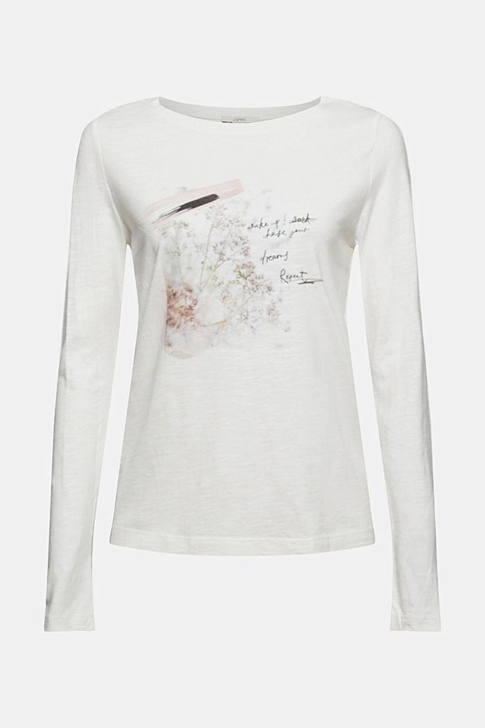 T-Shirts regular fit, OFF WHITE, detail image number 6