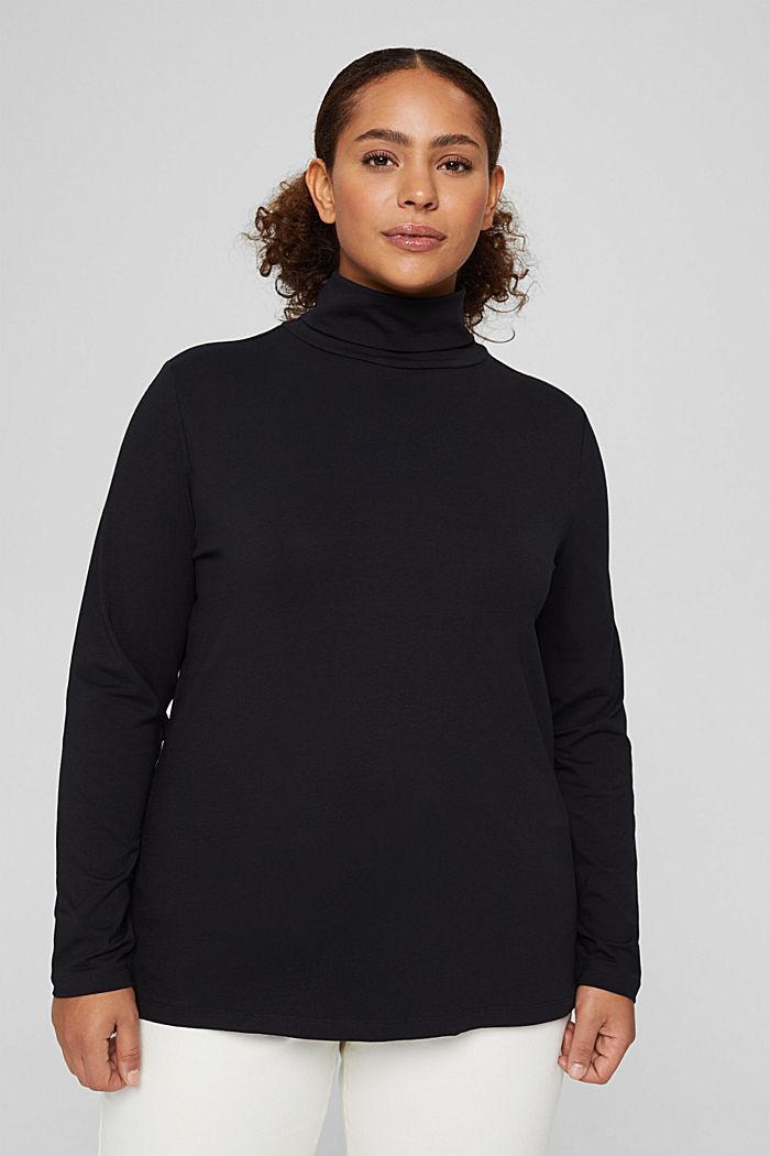 T-Shirts regular fit, BLACK, detail image number 0