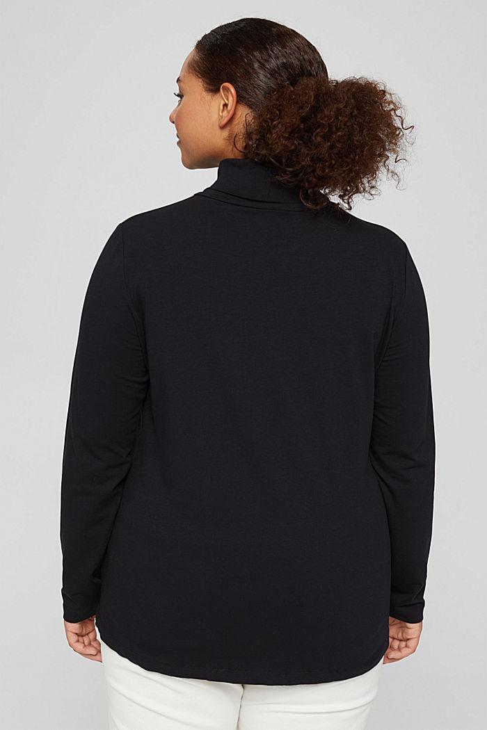 T-Shirts regular fit, BLACK, detail image number 3